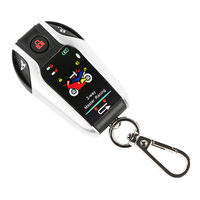 Motorcycle Alarm Vibration Protection Anti Theft Motorbike Burglar Waterproof Remote Start Engine Two Way Security Scooter