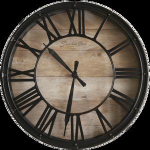 Промышленный стиль креативные настенные часы металлические 3d европейские ретро черные настенные часы для гостиной домашний декор Америка...