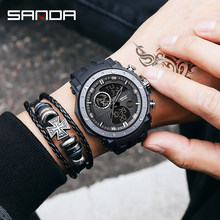 New Sport Wrist Watch Men Watches Military Army Famous Brand Wristwatch Dual Display Male Watch For Men Clock Waterproof Hours