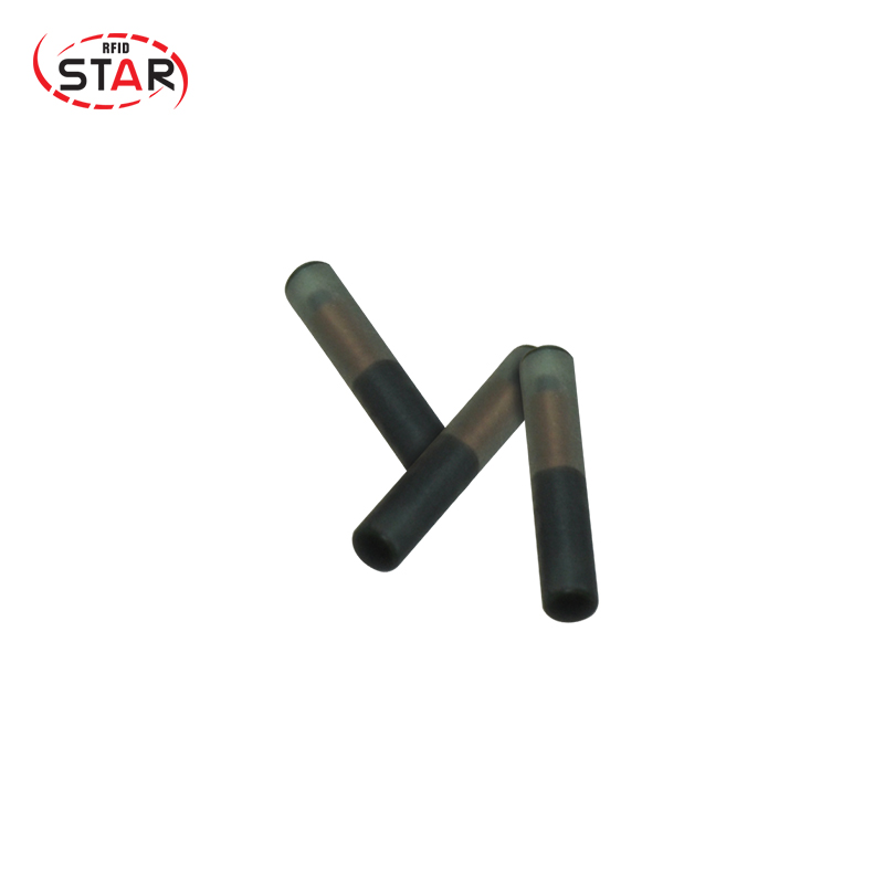 10pcs NFC Chip Rfid Tag Glass Pet Microchip 13.56mhz Ntag 216 2*12mm ISO 14443A Standard Animal Chip Implants For Identification