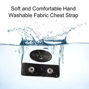 Image 4 - Cinturón de pecho con control del ritmo cardíaco, Bluetooth 4,0, rastreador de ejercicios para deportes al aire libre y musculación EZON C009
