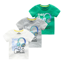 Summer Kids Boys Short Sleeve T Shirts Cotton T-Shirt Boys O-neck Boys Clothes цена и фото