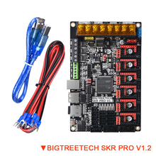 BIGTREETECH SKR PRO V1.2 لوحة تحكم TMC2209 TMC2208 UART TMC2130 SPI 32 بت قطع غيار طابعة ثلاثية الأبعاد لوحة ترقية مزدوجة Z SKR V1.3