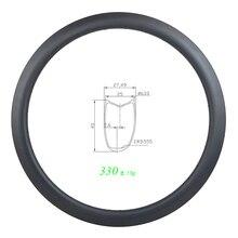 Ассиметричный дорожный диск 330 г 700c 45 мм, трубчатый углеродный обод U образной формы 25 мм, широкая UD 3K 12K, матовый глянцевый супер светильник 20H 24H 28H 32H 36H