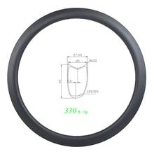 330g 700c 45mm asymetryczna tarcza drogowa rurowa obręcz węglowa U kształt 25mm szeroki UD 3K 12K matowy błyszczący 20H 24H 28H 32H 36H SUPER lekki