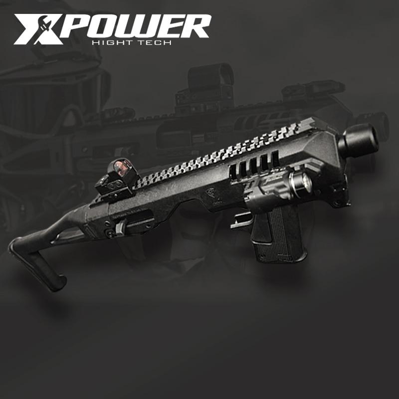 Xpower cca carabina micro roni ar paintball arma airsoft armas de metal airsoft tático acessórios