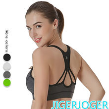 2019 New Women Brand Breathable Fast Dry Back Sports Bra Fitness Yoga Ladies Underwear Sport Bra Top Sports Wear for Women Gym(China)