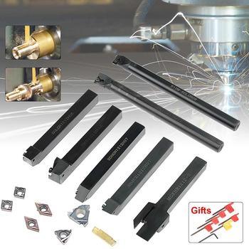 7pcs 12*12 CNC turning tool set with insert/WM210 Lathe cutting tool set