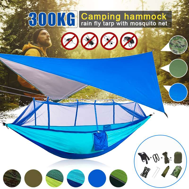 300kg Hammock Chair Outdoor Indoor Dormitory Bedroom Yard For Child Adult Swinging Hanging Double Safety Chair Hammock