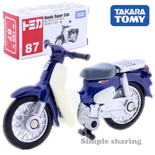 Takara Tomy Tomica #87 Honda Super Cub масштаб 1/33 Автомобиль Горячий Поп Детские игрушки Моторные Машины литье под давлением металлическая модель коллекцио...