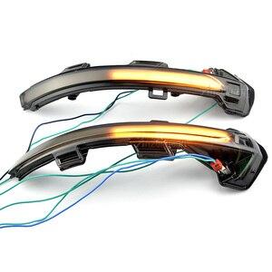 Image 3 - 2 חתיכות דינמי LED להפוך אות אור צד מראה חיווי סדרתית נצנץ עבור פולקסווגן פאסאט B8 Variant Arteon 15 19