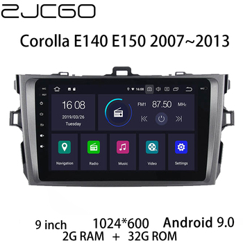 Car Multimedia Player Stereo GPS DVD Radio Navigation NAVI Android Screen Monitor for Corolla E140 E150 2007~2013
