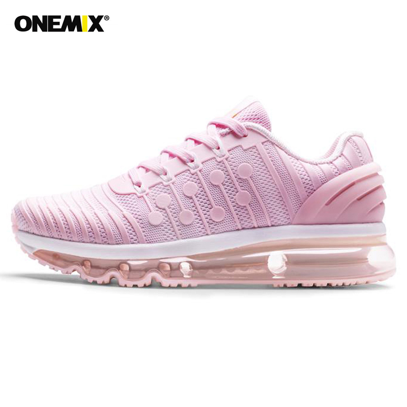ONEMIX Sneakers <font><b>Women</b></font> <font><b>Air</b></font> Cushion <font><b>270</b></font> Running Shoes Breathable Comfortable Sports Shoes Outdoor Jogging Walking Shoes image