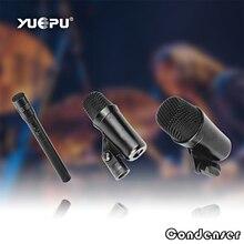 YUEPU RU-7C Professional Wire Drum Microphone Set with 7 Pieces High Sensitivity Condenser Kit Instrument microphone