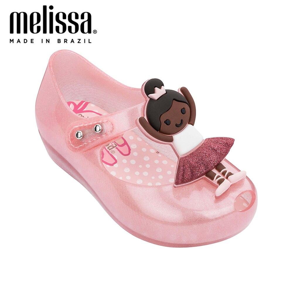 Mini Melissa Ultragirl Ballerina Girl Jelly Shoes Sandals 2020 Baby Shoes Melissa Sandals Kids Slides Shoe Girls Sandals Toddler