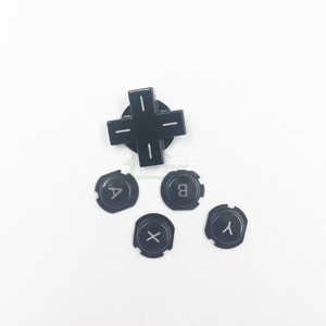 Image 5 - Original Used ABXY D pad button Direction Cross button replacement for nintendo 3DS game console repair part
