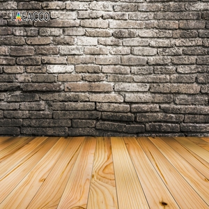 Image 5 - Laeacco Brick Wall Wooden Floor Grunge Portrait Photography Backdrops For Doll Pet Vinyl Photo Backgrounds For Photo Studio Prop