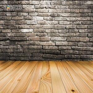 Image 5 - Laeacco muro di mattoni pavimento in legno Grunge ritratto fondali fotografia per bambola Pet vinile sfondi fotografici per Studio fotografico Prop