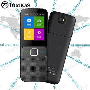 Image 1 - TOMKAS 137 traducteurs de langue traducteur intelligent écran tactile hors ligne en temps réel traducteur vocal de traduction Photo Portable