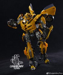 Transformation Car Robots Model Action Figure Toys for Boy Deformation Robot 5 Ko Mpm03 Bee