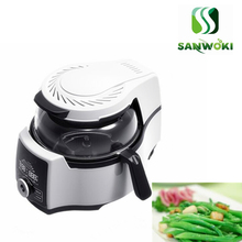 4.5L интеллектуальная машина для приготовления пищи автоматическая машина для приготовления мяса, овощей кастрюля мульти приготовление пищи Жарка аппарат для тушения плита робот