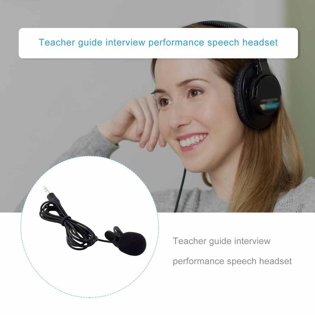 襟ラベリアヘッドセットミニポータブルスマート mikrofon マイクのスーツ教師のための音声コンデンサー有線 mikrofon