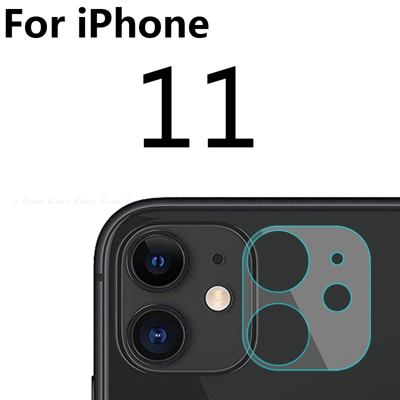 2pcs/lot Clear Back Camera Lens Screen Protector Protective Film Tempered Glass For iPhone 11 Pro XS Max X XR 8 7 6 6S Plus