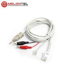MT-2153 Krone 2 Pole test cord BT plug test cord with BT plug RJ11 Plug Aligator Plug