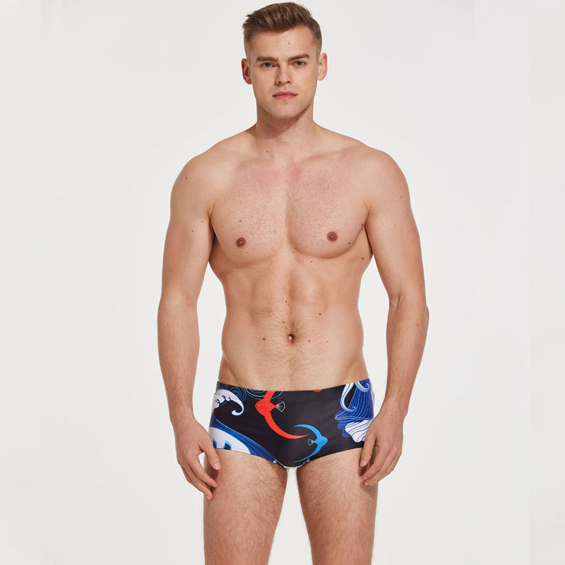 A Swimming Industry Four Corners Swimming Trunks Training Bathing Suit Small Triangle Men