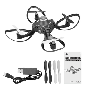 Image 3 - 2019 nouveau W606 16 Original Valcano gants contrôle interactif Mini Drone quadrirotor Wifi FPV 480P caméra RC hélicoptère quadrirotor drones drone camera drone profissional jouets helicoptere radiocommande dron toys