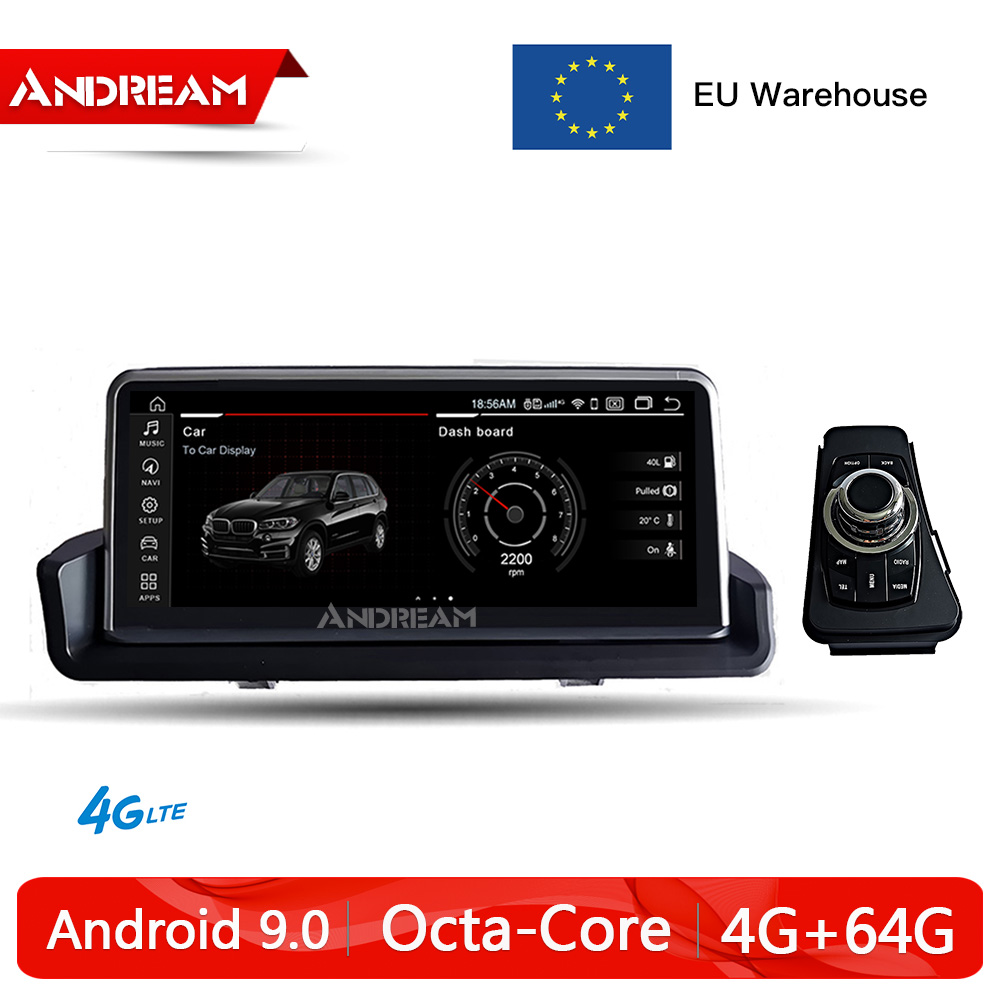 Car Multimedia Navigation E91 Android 9.0 E93 Bmw E90 E92 for 8-Core Qualcomm title=