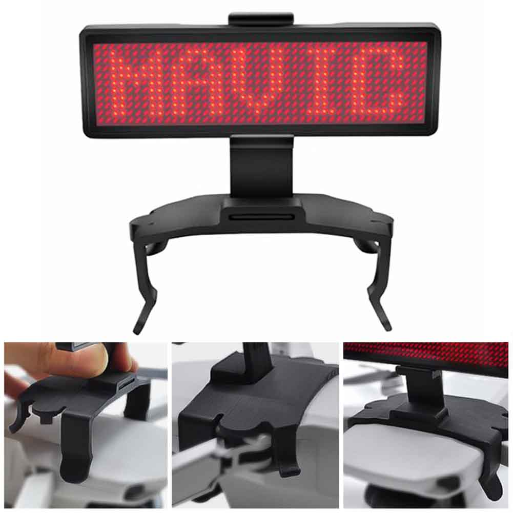 Board Bracket Advertising LED Display Screen Outdoor Graphic DIY With Holder Mount Portable Drone Accessory For DJI Mavic Mini