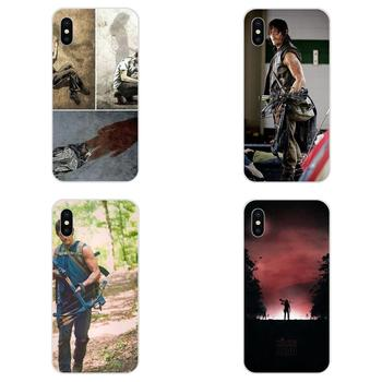 Print Phone Case For Apple iPhone 4 4S 5 5C 5S SE 6 6S 7 8 Plus X XS Max XR Darly Dixon The Walking Dead Zombies image