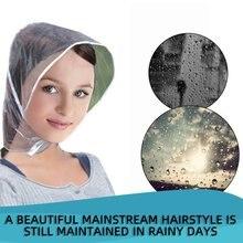 Пластиковая Шляпа от дождя, плащ, плащ для женщин, мужчин, детей, подарки, универсальное использование, для пеших прогулок, рыбалки, дождей, водонепроницаемые ветрозащитные шляпы