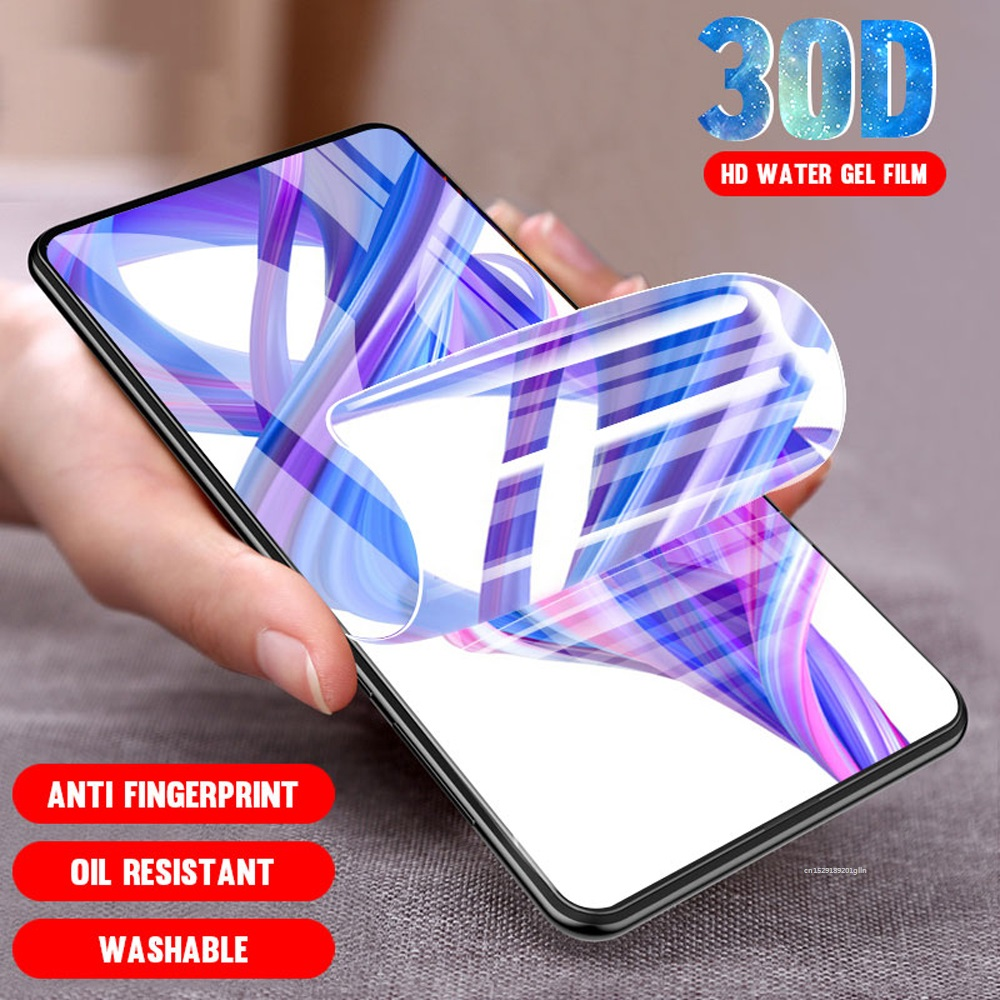 100D Full Screen Protector For Motorola Moto One Action Vision P50 Zoom E6 Plus E4 Play Force G7 Play E6S Macro Hydrogel Film image