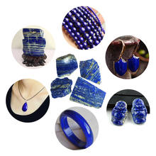 High Quality 100g Natural Rough Afghanistan Lapis Lazuli Crystal Raw Gemstone Mineral Stone Bluestone As A Collection DIY Jewelr(China)