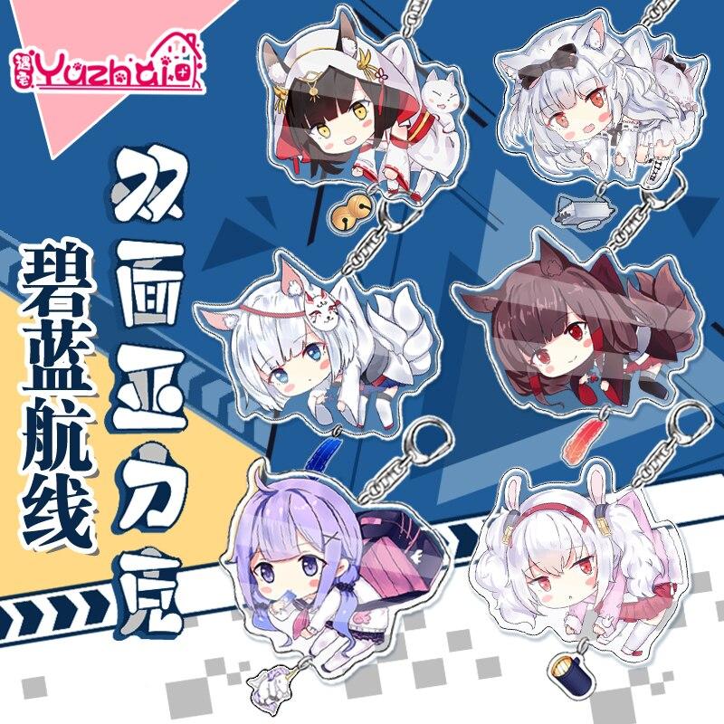 2020 New item Taimanin Asagi Igawa Official Acrylic Key chain Yukikaze sakura