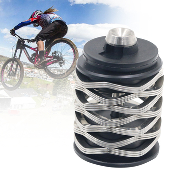 Replacement Modification Steel Security Riding Sports Damper Bike Shock Suspension Wear Resistant Outdoor Rear Wheel Wave Spring