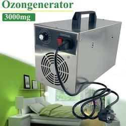 Generador de ozono 3000 mg/h para purificador de aire de agua máquina de ozono esterilización de desinfección de ozono esterilizar formaldehído