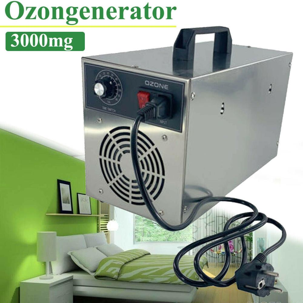 Ozone Generator For Air Purifier Kill Ozone Disinfection Machine Ozone Disinfection Sterilization Formaldehyde 3000 Mg/h DHL