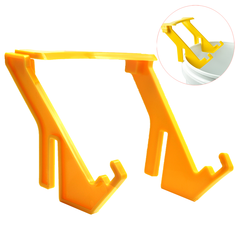 1PCS Beekeeping Honey Gallon Bucket Holder Plastic Bracket  Rack Frame Grip Lift Bees Tools Apicultura Equipment Supplies