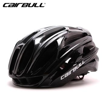 Cairbull ultraleve racing ciclismo capacete com óculos de sol intergralmente moldado mtb capacete da bicicleta montanha estrada capacete 1