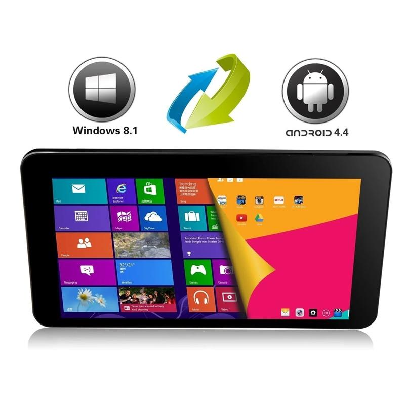 i8 pro Windows Tablet PC 8 inch 1280x800IPS Windows 8.1+Android 4.4.4 KitKat(Dual System) 1GB+32GB Z3735G Quad core 32-bit OS