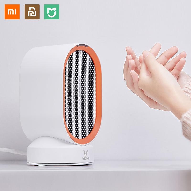XIAOMI youpin yunMI radiateurs électriques ventilateur comptoir Mini chambre à la maison pratique rapide économie d'énergie plus chaud pour hiver PTC chauffage en céramique