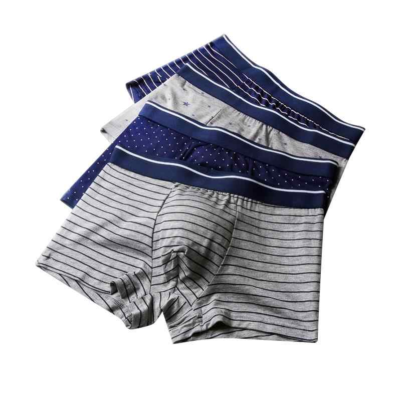 Boxers Mens Modal Zachte boxershorts Heren Ondergoed Boxershort Cuecas masculinas Ropa interieur masculina R04