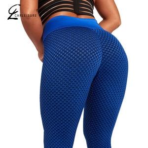 Image 1 - Women Workout Fitness Leggings Femninia High Waist leggins Mujer Quick Drying Sportswear Ladies Polyester Casual leggings Women