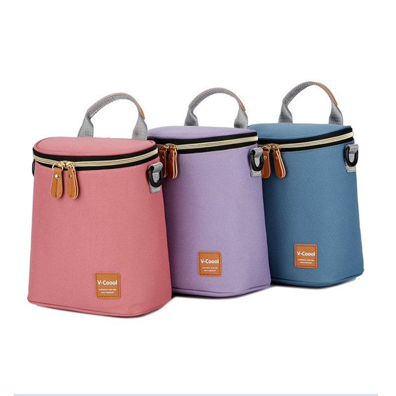 Mummy Bag Handbag Shoulder Insulation Bags Food Thermal Bag Baby Breast Milk Cooler Bag Fresh Keeping BNA015