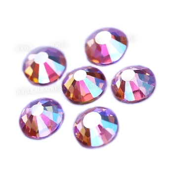 Pink AB SS3-SS30 Nails Rhinestones nails Non hot fix crystal strass glitters accessoires for DIY nail art decor manicure designs 2