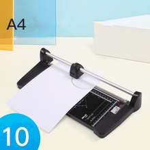 A2 A3 A4 Paper Cutter Manual Rolling  1mm Thick About 10 Sheets Of  Multi-material