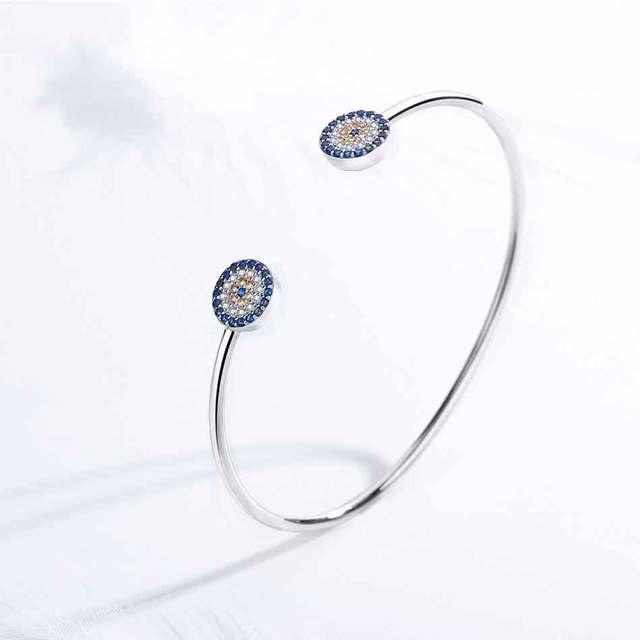 Bracelet Kaletine oeil bleu 3